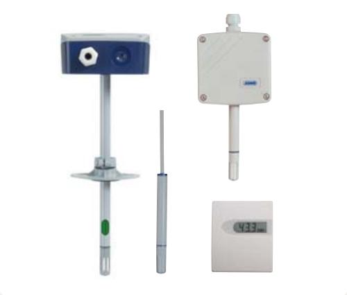 温湿度传感器和二氧化碳浓度测量探头